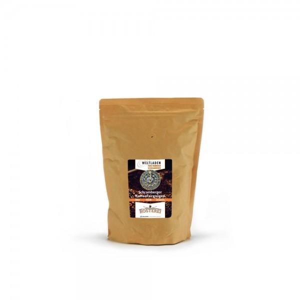 Schramberger Kaffeefairgnügen 500g / ganze Bohne